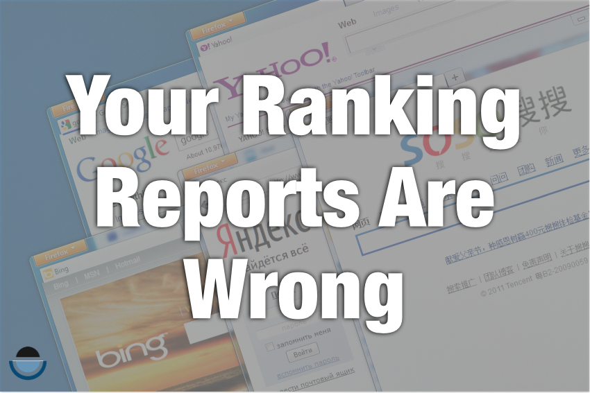 rankings are wrong