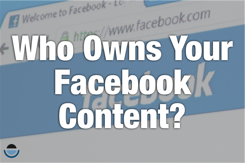 Facebook content ownership policy