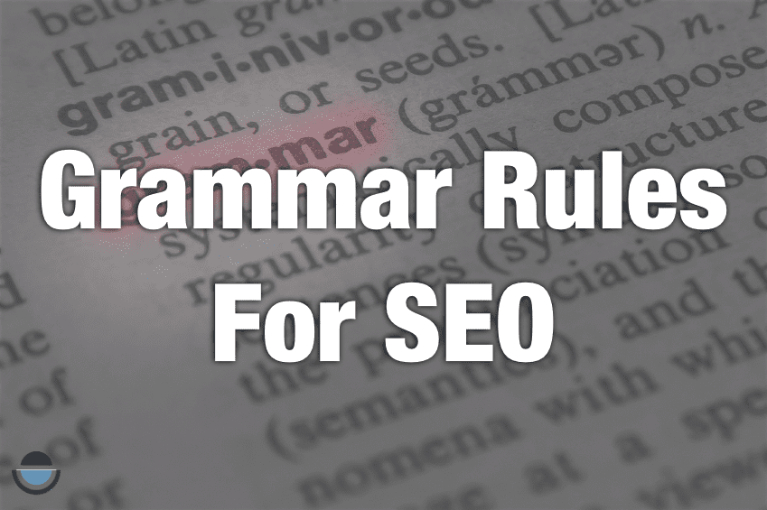 Grammar outlines teach us about SEO