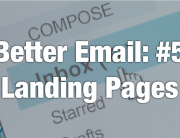 improve email marketing with landing pages