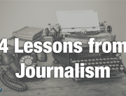 Journalism as Teacher